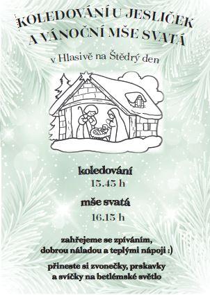 Vánoční koledování v Hlasivu