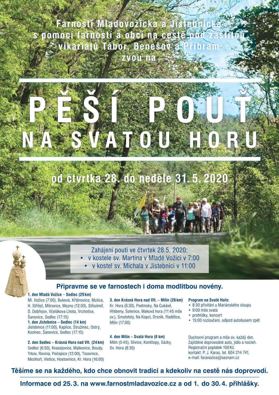 Setkání Svatohorských poutníků 2020