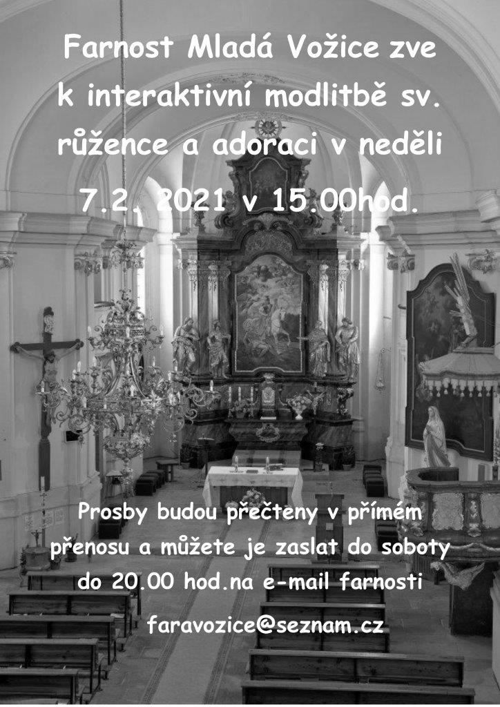 Nedělní modlitba v kostele sv. Martina